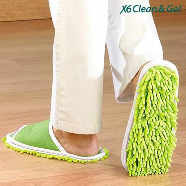 Papuci de Casa  Mop Clean & Go 0