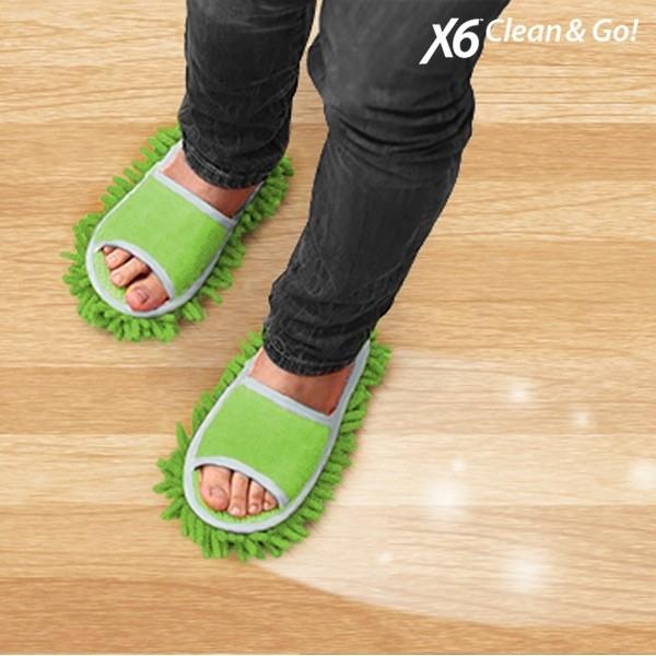 Papuci de Casa  Mop Clean & Go 4
