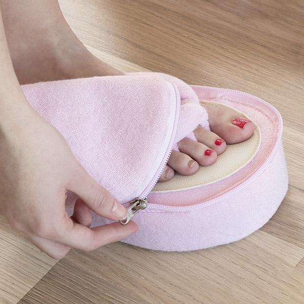 Papuci din spuma cu memorie pentru pedichiura 1