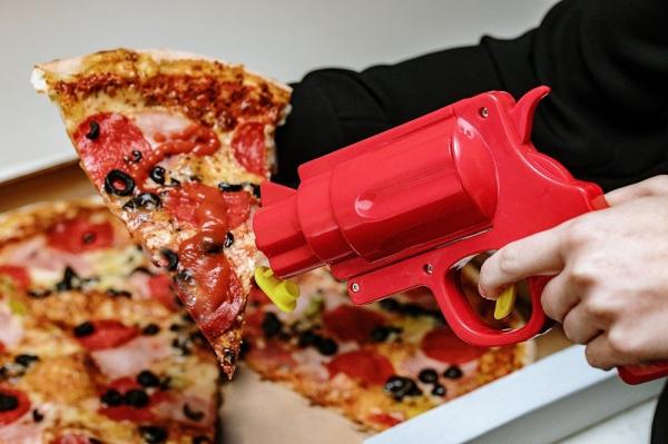 Pistol mustar si ketchup 1