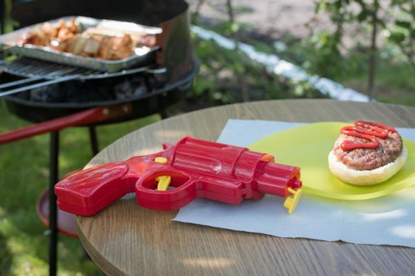 Pistol mustar si ketchup 2