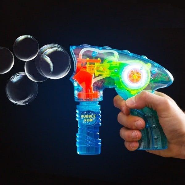 Pistol pentru baloane de sapun cu lumina 0