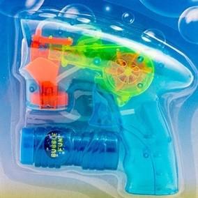 Pistol pentru baloane de sapun cu lumina