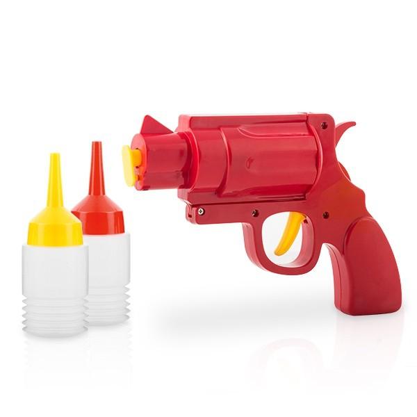 Pistol mustar si ketchup 4