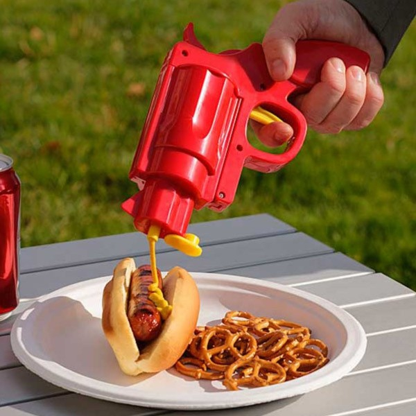 Pistol mustar si ketchup 0