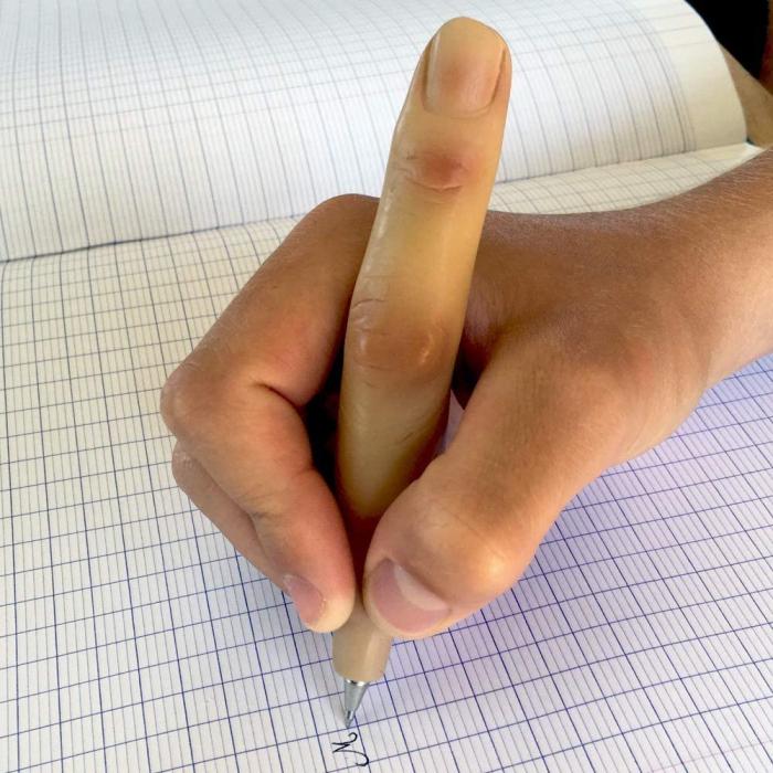 Pix in forma de deget 0