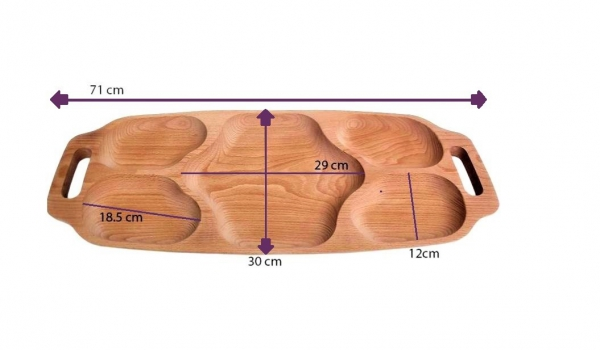 Platou mare lemn fag 1
