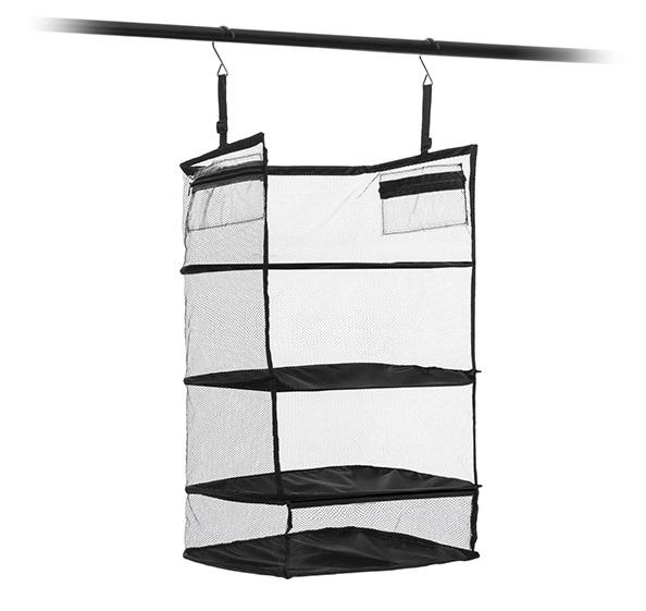 Raft pliant tip organizator portabil pentru bagaj. Sleekbag 1