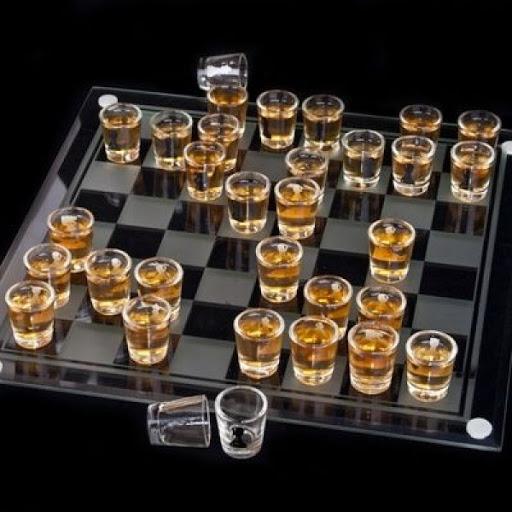 Sah cu pahare, joc de baut pentru cei strategi 2