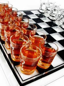 Sah cu pahare, joc de baut pentru cei strategi 5