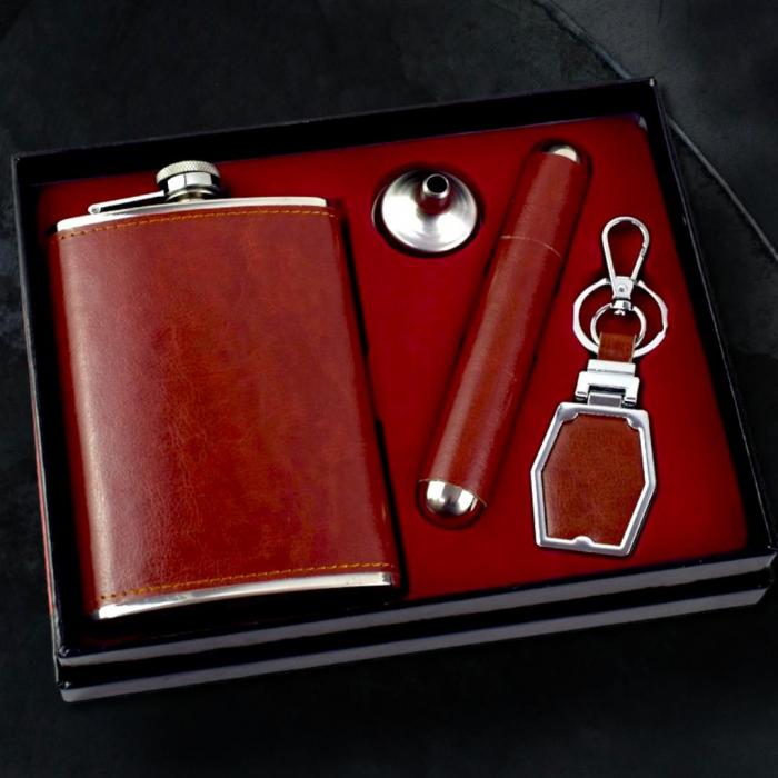Set cadou 4 accesorii pentru barbati 0