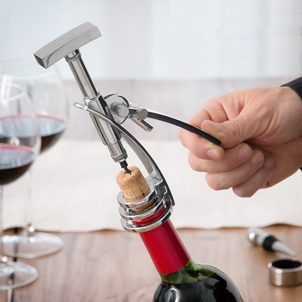 Set de accesorii pentru vin Screwpull 0
