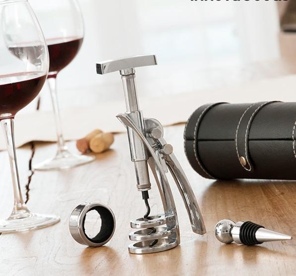 Set de accesorii pentru vin Screwpull 4