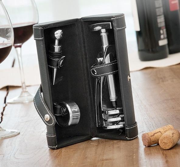Set de accesorii pentru vin Screwpull 5