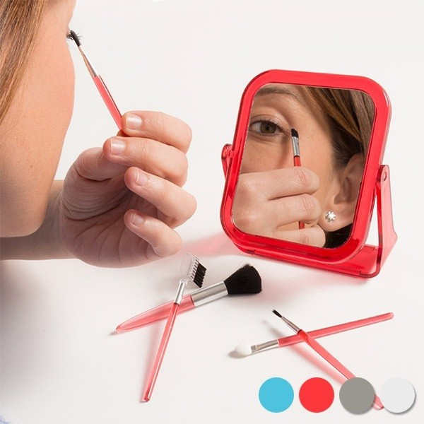 Set oglinda cu pensule de machiaj , 6 piese 0