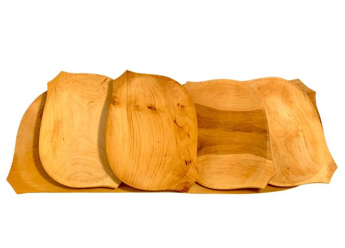 Set platou din lemn 5 piese 1