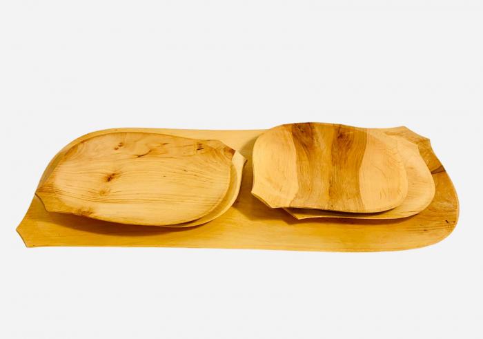 Set platou din lemn 5 piese 2