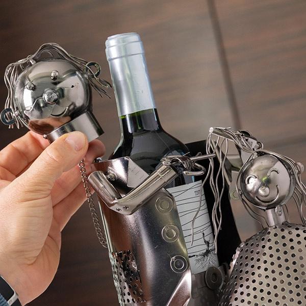 Suport pentru sticla de vin Hairstylist 0