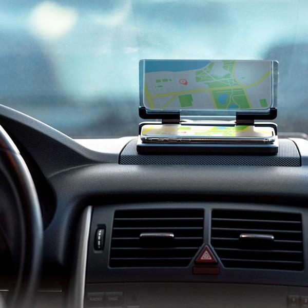 Suport auto pentru telefon cu oglinda 0