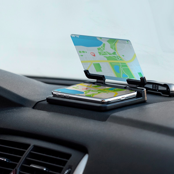 Suport auto pentru telefon cu oglinda 2