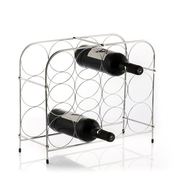 Suport metalic Fagure pentru 12 sticle vin 1