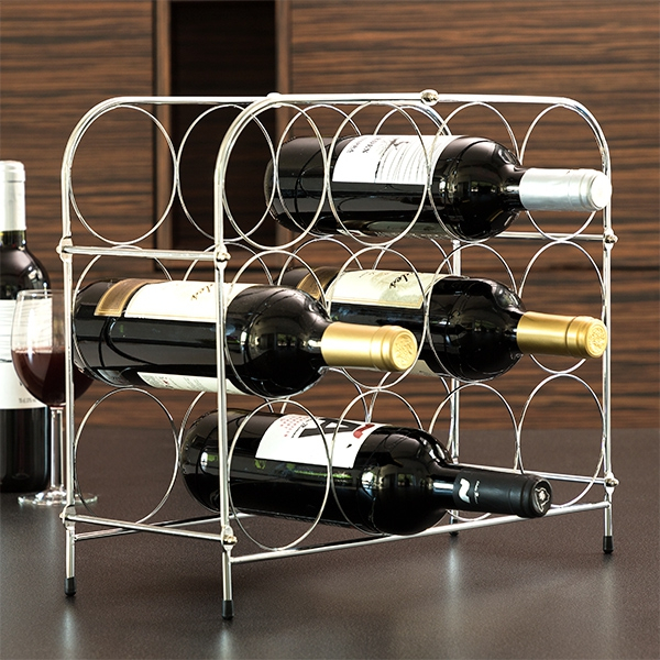 Suport metalic Fagure pentru 12 sticle vin 0