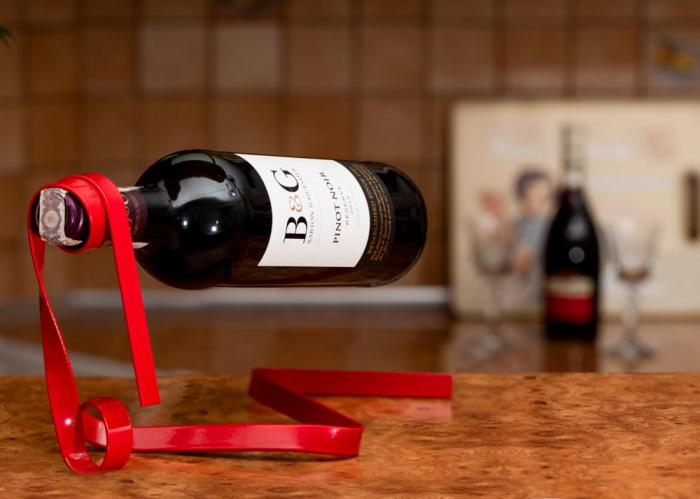 Suport pentru sticla de vin Magic Ribbon 1