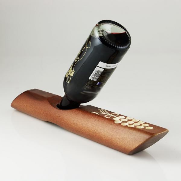 Suport din lemn pentru sticla vin 0