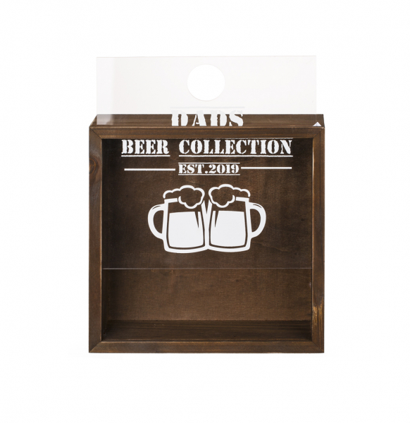 Tablou pentru capacele sticlelor de bere