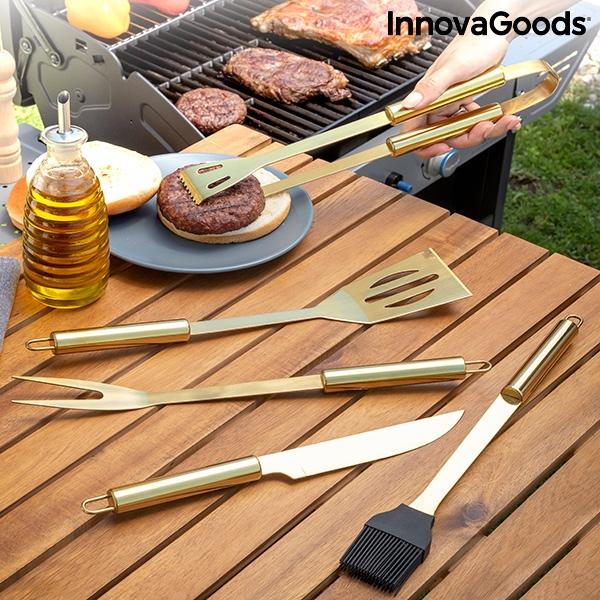 Trusa de lux cu instrumente pentru gratar KING-BBQ [1]