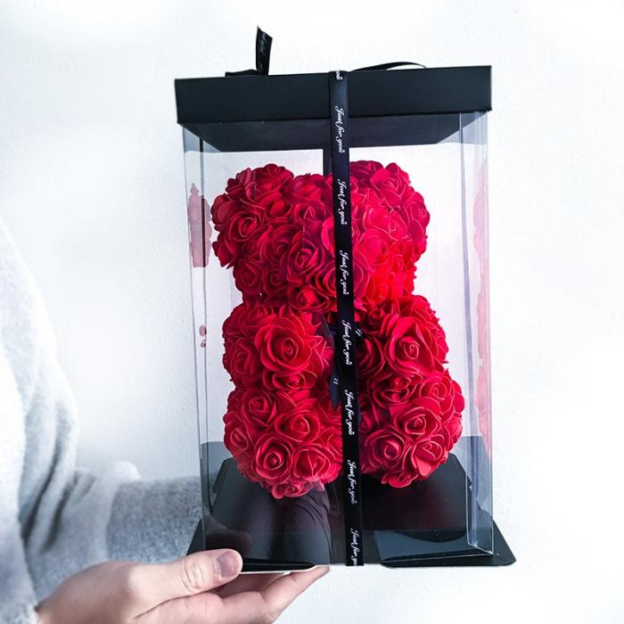 Ursulet din trandafiri 25 - 40 cm 2
