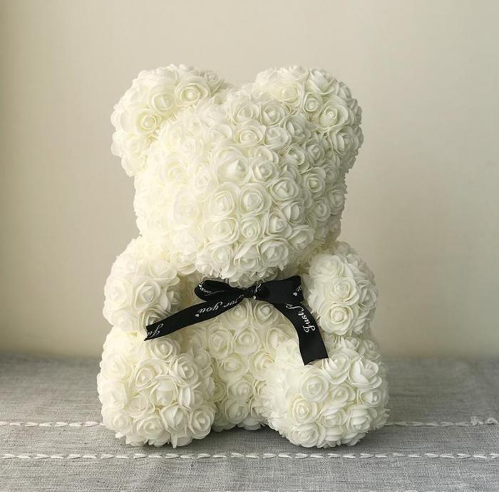 Ursulet din trandafiri 25 - 40 cm 9
