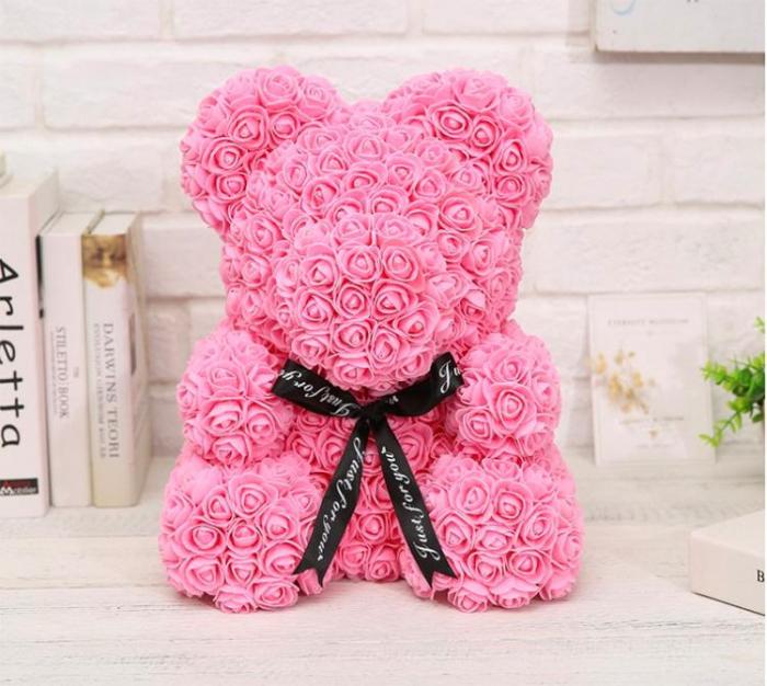 Ursulet din trandafiri 25 - 40 cm 5