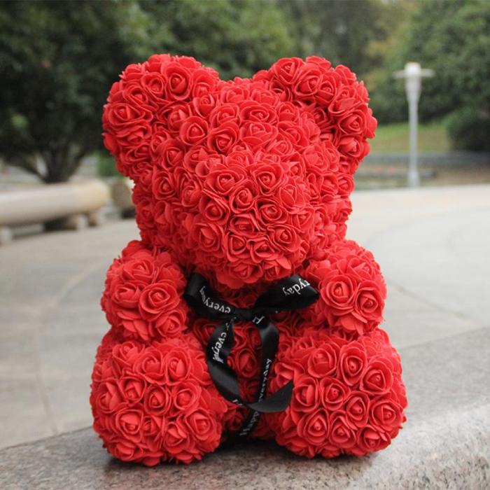 Ursulet din trandafiri 25 - 40 cm 7