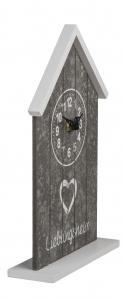 Ceas de birou Casuta din lemn1