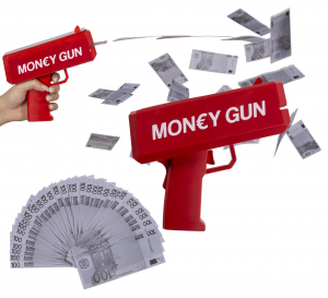 Pistol cu bani2