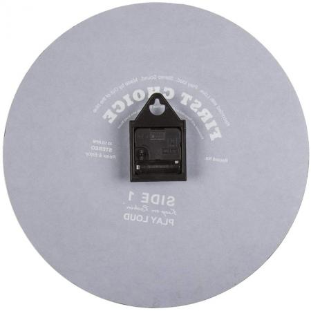 Ceas de perete Oglinda - Disc Vinil 38 cm3
