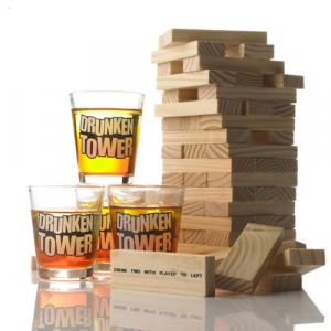 Joc de societate - Jenga cu shoturi/Drunken Tower0