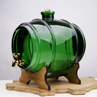 Butoi din sticla verde4