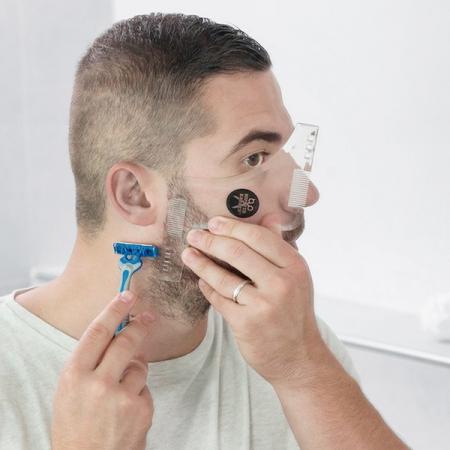 Sablon de barba Hipster Barber1
