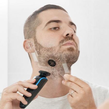 Sablon de barba Hipster Barber0