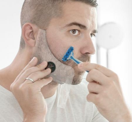 Sablon de barba Hipster Barber2