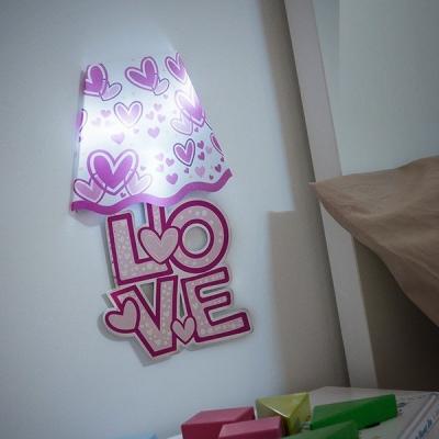 Autocolant de perete cu LED0