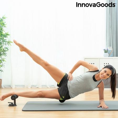 Bară pentru abdomene cu ventuză și ghid de exerciții CoreUp6