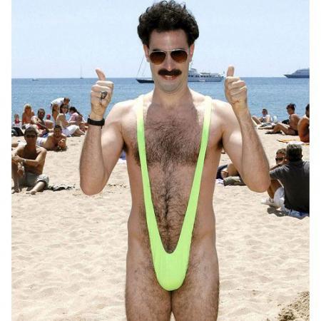 Costum de baie amuzant Borat0