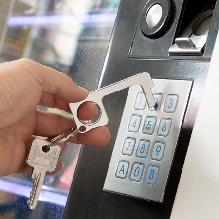 Breloc igienic pentru dechizător de uși Multi-utilizare Security0