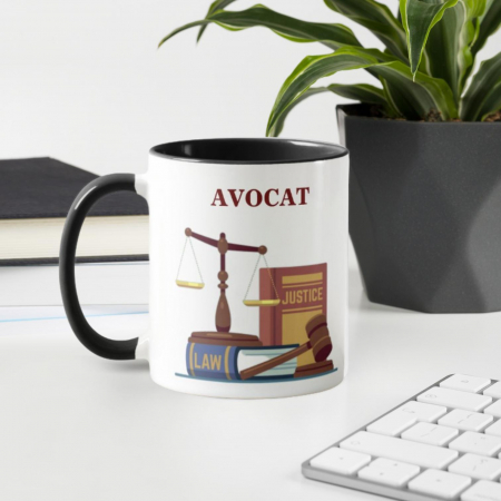 Cana personalizata cu text- Avocat0