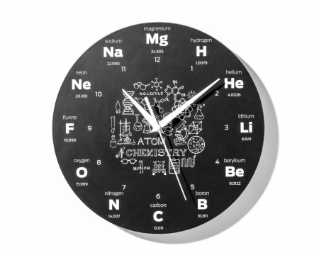 Ceas de perete  CHEMISTRY4