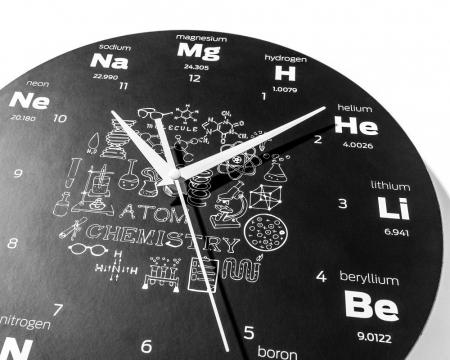 Ceas de perete  CHEMISTRY6
