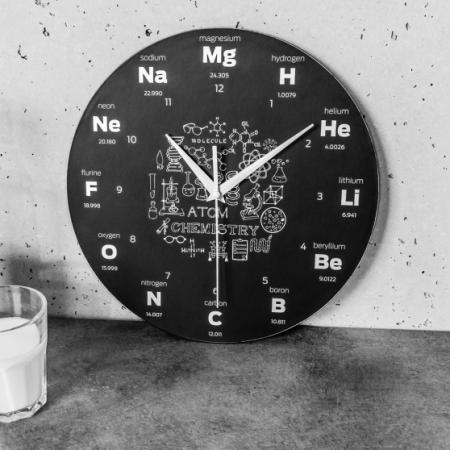 Ceas de perete  CHEMISTRY0